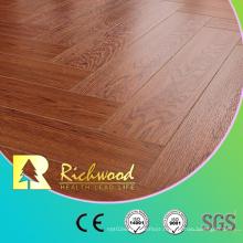 12.3mm E0 AC4 Teak Vinyl Plank Laminated Wood Laminate Flooring