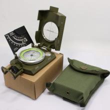 Многофункциональный армейский компас Metal Survival Gear