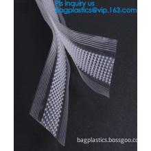 reusable zipper for shopping bags, Colorful double sealed lock PE plastic vacuum bag zipper cheap environmental magic zip
