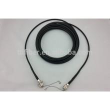 Táctica impermeable monomodo ODC 2 núcleo fibra óptica patch cord