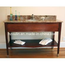 Hotel Solid Wood Bathroom Vanity (BA-1102)