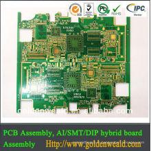 shenzhen professionnel OEM rigide flexible pcb fabricant samsung pcb