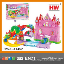 Hot Sale Magic Castle B/O Railway Toy Train Set