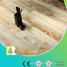 Commercial 12.3mm AC4 Embossed Teak Waxe3d Edged Laminate Floor