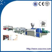Xinxing Sjz Certificado Placa de espuma de PVC Junta Línea de Producción