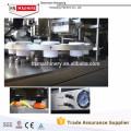 2015 лучшие продажи алюминиевые Завалка пробки и машина запечатывания с управлением PLC