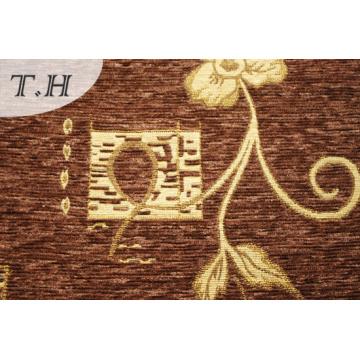 Dubai Chenille Sofa Tuch von brauner Farbe
