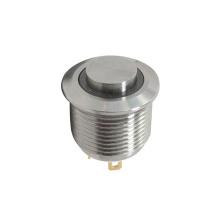 Interruptores de metal con pulsador LED antivandalismo IP67