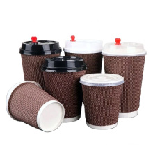 PS PLA PP lid for paper cup round hole cross open white black colorful