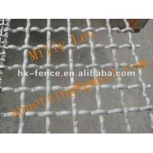 Tela tecida da tela da pedreira das telas de aço do fio