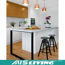 Double Colour Asian Style UV Kitchen Cabinets Furniture (AIS-K247)
