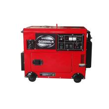 Générateur d'essence silencieux de 7 kVA (GG8000LN)