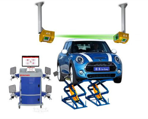 5D wheel alignment