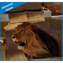 Juego de sábanas de sábanas y fundas de edredón 3D African Animals 3D
