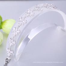 Cheap 925 pulsera de plata esterlina, fabricante de la pulsera, regalo de navidad