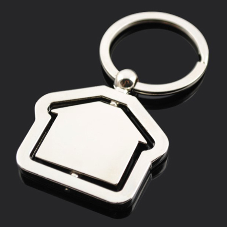DETAIL rotatable metal keychain