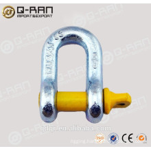 US Type Drop Forged Rated D Shackle