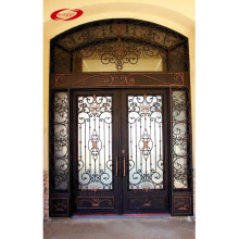 French Patio Wrought Iron Doors