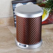 Мусорный ящик для мусора коричневого цвета PU (C-9LD)