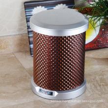 PU Brown Round Sensor Garbage Bin (C-9LD)