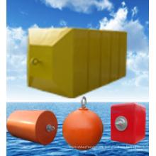 Boyas de espuma con revestimiento de poliuretano garantizadas por ISO