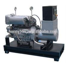 50 / 60Hz Depósito de combustible base Generador diesel 30kV A