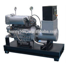 50/60Hz Base fuel Tank Diesel Generator 30kV A