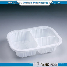 Custom Food Grade Plastic Tray for Food with 3 Compartment