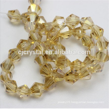 wholesale cheap Loose Bicone Shape Crystal Beads