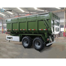 Ρυμουλκούμενο 30Tons U Shape Box Hydraulic Dump Trailer