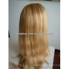 beautiful straight blonde remy human hair full lace wig