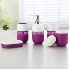 набор для ванной комнаты с силикон, набор из 5, оптовая набор для ванной комнаты