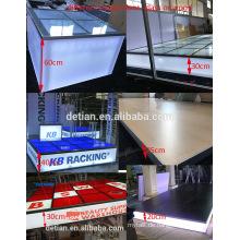 Detian Display bietet modulare Medien Bühne, maßgeschneiderte tragbare Bühne für Messe-Event