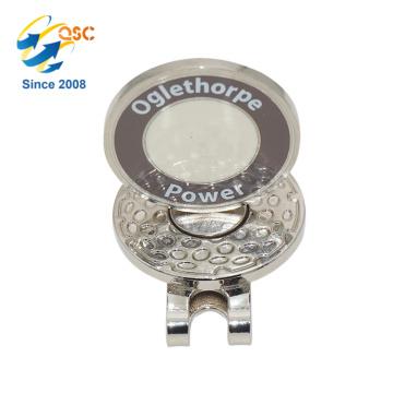 Aimant en gros avec l'agrafe magnétique adaptée aux besoins du client de chapeau de golf avec l'agrafe de chapeau de marqueur de boule