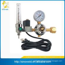 medical oxygen regulator with flowmeter
