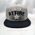 factory directly acrylic material puff embroidery snapback cap