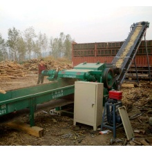 high efficiency screw wood chipper with CE