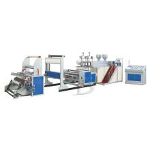 Máquina para fabricação de filme estirável de dupla camada (extrusora de filme fundido)