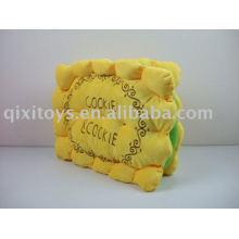cojín del asiento de la galleta del juguete de peluche relleno