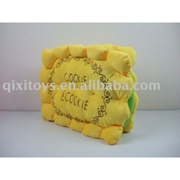 stuffed plush toy cookie seat cushion