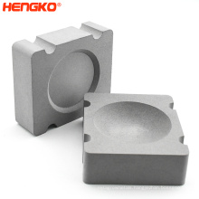 Customized Sintered stainless steel filter element with uniform air permeability and stable filtration