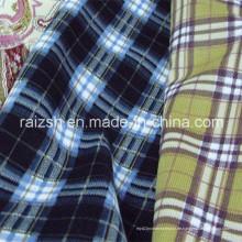 Polyester-Diamant-Samt-Stoff für warme Hemden im Winter