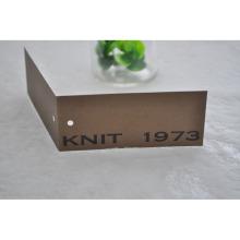 Сложенная крафт-бумага Swingtag с глазом для одежды
