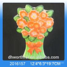 2016 nova chegada flor design cerâmico umidificador de ar