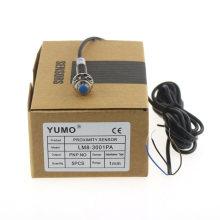 Yumo Lm8-3001PA Series M8 Mini sensor de proximidad de inductancia del cilindro