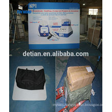 advertising banner wall advertising display packed in small carton box for exhibition