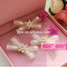 Accessoires de cheveux chinois traditionnels nuptiaux faits à la main