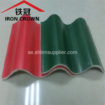 Iron Crown Non-asbest Isolerande MgO Corrugated Roof Sheet