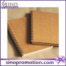 Hot Selling Cheap Hardcover School Kraft Notebook