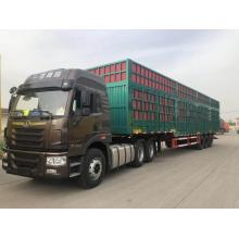 Trailerbox semi trailer with side open door